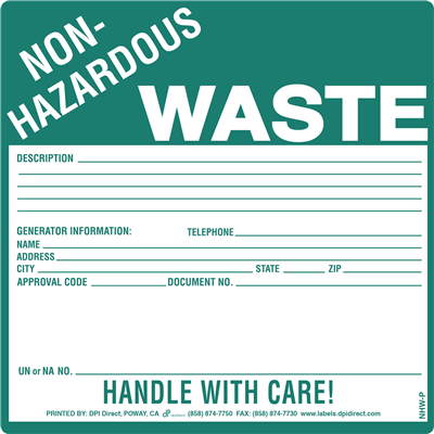 Non-Hazardous Waste Custom