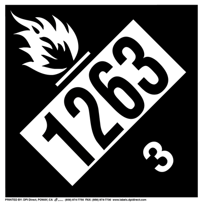 Flammable Paint (1263) - (25 /Pack)