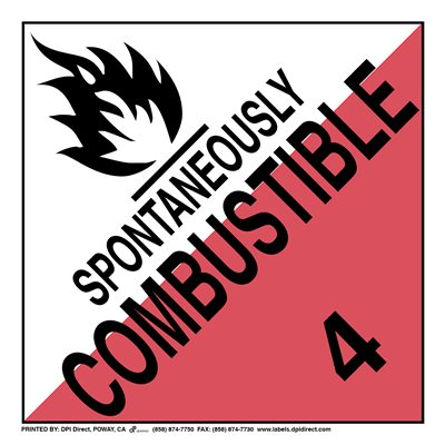 Spontaneously Combustible 4 Worded - (25 /Pack)