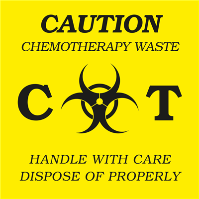 Chemotherapy Waste - (500 /Roll)
