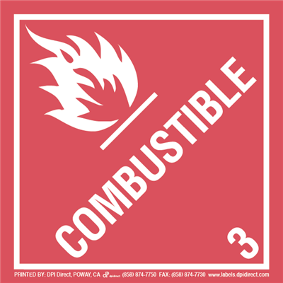 Combustible 3 - (500 /Roll)