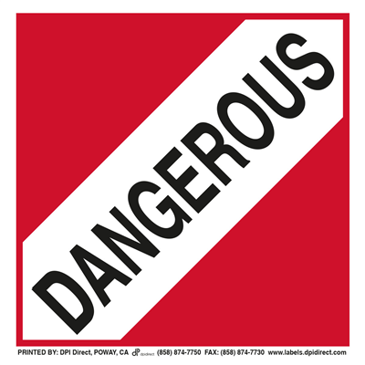 Dangerous Worded - (25 /Pack)