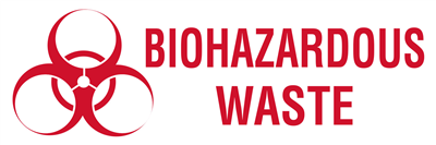 Biohazard Waste - (500 /Roll)
