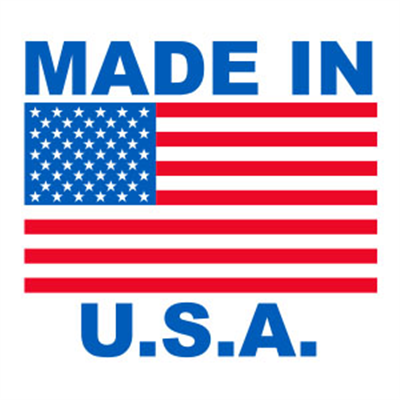 Made in USA Small - (1000 / Roll)